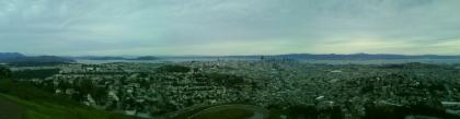 La baie vue de tween peak